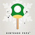 My Nintendo Ice Pop - 1 Up Mushroom by Chungkong Art