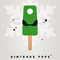 My NINTENDO ICE POP - Luigi by Chungkong Art