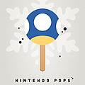 My Nintendo Ice Pop - Mini Mushroom by Chungkong Art