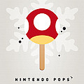 My Nintendo Ice Pop - Mushroom by Chungkong Art