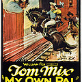 My Own Pal, Center Tom Mix, 1926, Tm by Everett