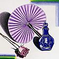 My Purple Fan by Teri Schuster