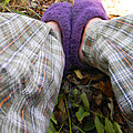 My Purple Slippers by Christy Usilton