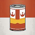 My Star Warhols Luke Skywalker Minimal Can Poster by Chungkong Art