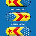 My Superhero Pills - Wonder Woman by Chungkong Art