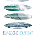 My Surfspots Poster-4-dungeons-cape-town-south-africa by Chungkong Art