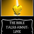 My The Bible Talks About Love Book by Rose Santuci-Sofranko