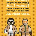 My The Big Lebowski lego dialogue poster by Chungkong Art