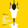 My Tour De France Minimal Poster by Chungkong Art