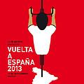 MY VUELTA A ESPANA MINIMAL POSTER - 2013 by Chungkong Art