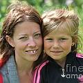 My With Mother. Sweden. by  Andrzej Goszcz