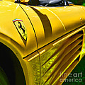 My Yellow Ferrari by Paul Ward