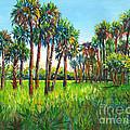 Myakka Palms by Lou Ann Bagnall