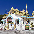 Myanmar Buddhist Temple by Sally Weigand