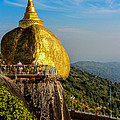 Myanmar's Golden Rock Pagoda by Joshua Van Lare