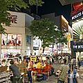 Myeongdong Shopping Street In Seoul South Korea by Jacek Malipan