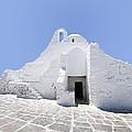Mykonian Church by Hakon Soreide