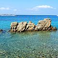 Mykonos Blue Aegean by Brenda Salamone
