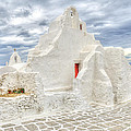 Mykonos Church by Paul and Helen Woodford