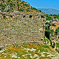 Myra's Roman Theatre In Fourth Century-turkey by Ruth Hager