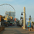 Myrtle Beach Boardwalk by Suzanne Gaff