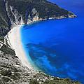 Myrtos Beach Kefalonia Greece  by Ivan Pendjakov