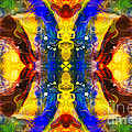 Mysterious Dimensions Abstract Pattern Artwork By Omaste Witkowski by Omaste Witkowski