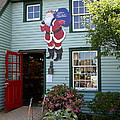 Mystic Christmas Shop - Connecticut by Christiane Schulze Art And Photography