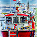 Mystic Fireboat by Joe Geraci