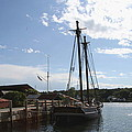 Mystic Harbor - Ct by Christiane Schulze Art And Photography