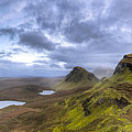 Mystical Landscape On Skye by Mark E Tisdale
