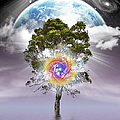 Mystical Tree Of Life by Endre Balogh