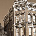 N. D. Hill Building. Port Townsend Historic District  by Connie Fox