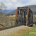 N W Railroad Trestle by Brenda Dorman