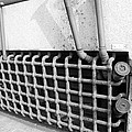 N Y C Grates In Black And White by Rob Hans