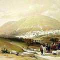 Nablus Old Shechem by Munir Alawi