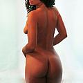 Nadine- Window Nude 7 by Stephen Carver