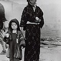 Nagasaki Atomic Bomb Survivors Holding by Everett