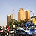 Nairobi City In The Sun by Morris Keyonzo