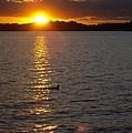 Namakagon Sunset by Laura Elder