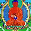 Namo Amitabha Buddha 16 by Jeelan Clark