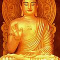 Namo Amitabha Buddha 36 by Jeelan Clark