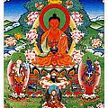Namo Amitabha Buddha 40 by Jeelan Clark
