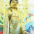 Namo Amitabha Buddha T 37 by Jeelan Clark