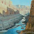 Nankoweap Canyon by Beth Johnston