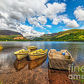 Nantlle Lake by Adrian Evans