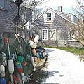 Nantucket Buoys by Susan Wyman