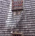 Nantucket Olde Gaol Windows by Susan Wyman
