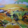 Napa Valley Perriwinkle Sky by Rebecca Lou Mudd
