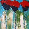 Napa Valley Red Poppys by Rebecca Lou Mudd